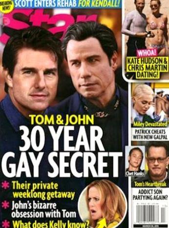Η.W.N.: Τομ Κρουζ - Τζον Τραβόλτα: Η κρυφή ερωτική σχέση που κρατά 30 χρόνια