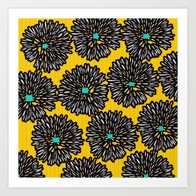 Indigo Art Print by Simi Design - $15.60