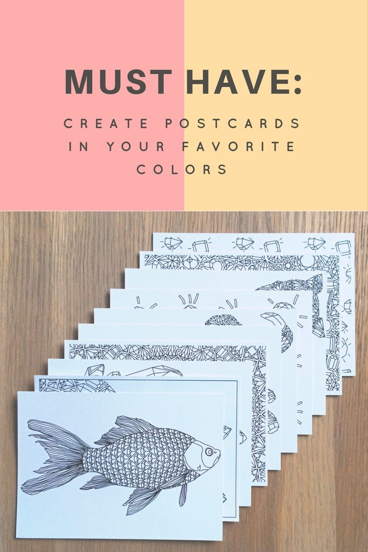 Check out this amazing postcards set! Surprise your beloved ones with these unique postcards colored by you! I always like to say, that a gift isn't supposed to be huge - it is supposed to be personal! I love how these postcards can be colored with your favorite colors and let you make little but sweet surprises :) Especially if you're into adult coloring or know someone who is - save this link! The postcards set by Anna Grunduls is a must-have :)