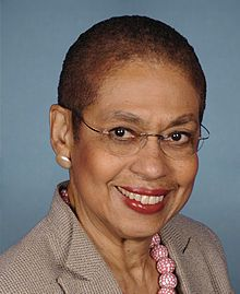 Eleanor Holmes Norton (born June 13, 1937) has been a Delegate to the United States Congress representing the District of Columbia since 1991. While in college Mrs. Norton was a SNCC organizer, working with Medgar Evers and Fannie Lou Hamer. After graduating from Yale Law School in 1964 she worked as assistant director of ACLU, head of the New York City Human Rights Commission, and chair of the US EEOC. #TodayInBlackHistory