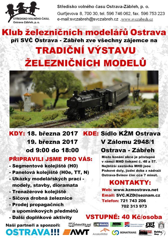 KŽM Ostrava - výstava železničních modelů