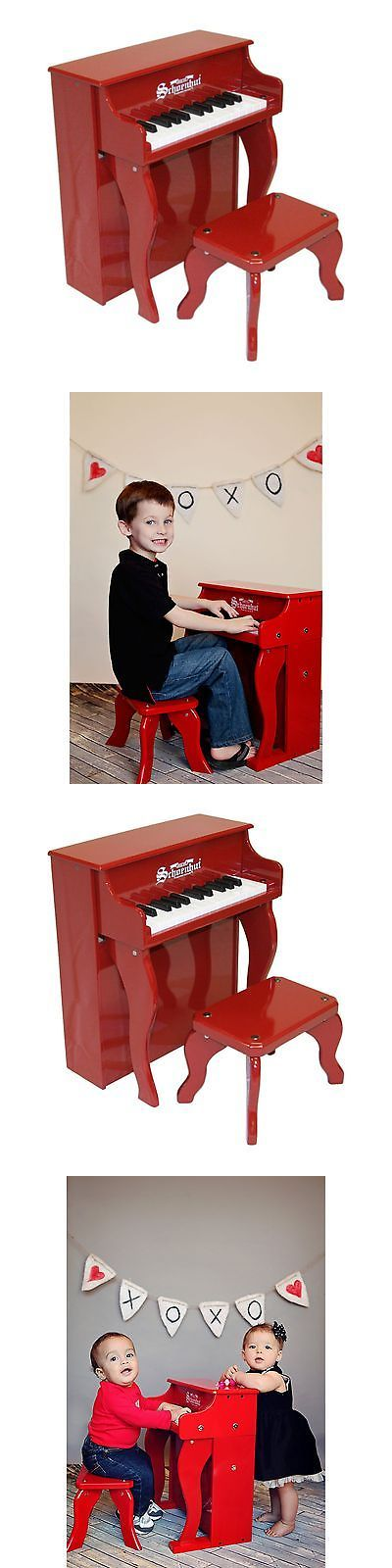 Music and Art 11735: Schoenhut 25 Key Red Elite Spinet Piano -> BUY IT NOW ONLY: $119.95 on eBay!