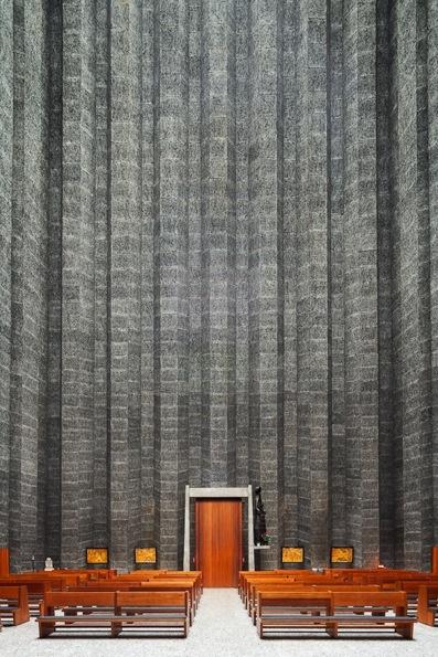 The Saint Rita church, designed by architects Léon Stynen & Paul Demeyer