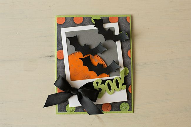 Boo card from Fun Stampers Journey