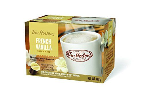 Tim Hortons (K-Cup) Single Serve French Vanilla Cappuccin... https://www.amazon.ca/dp/B00U0DZDL8/ref=cm_sw_r_pi_dp_x_rY3syb0VM6HC8