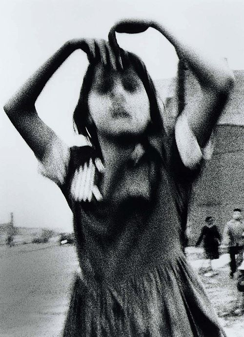 William Klein - Girl Dancing in Brooklyn, 1955.