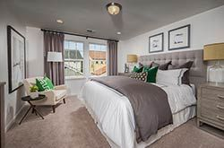 The Langley plan in the Liberty at East Garrison features beautiful spaces for your coastal lifestyle. Learn more about this condominium collection in Monterey County.