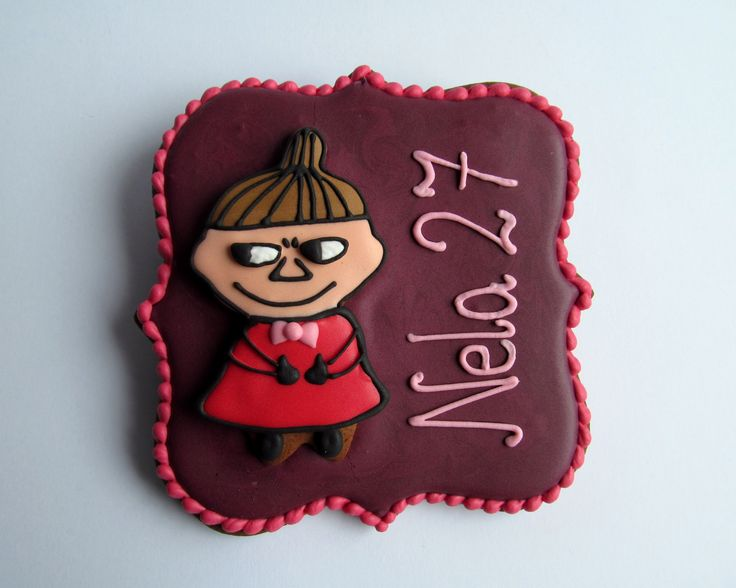 Little My from The Moomins Cookie