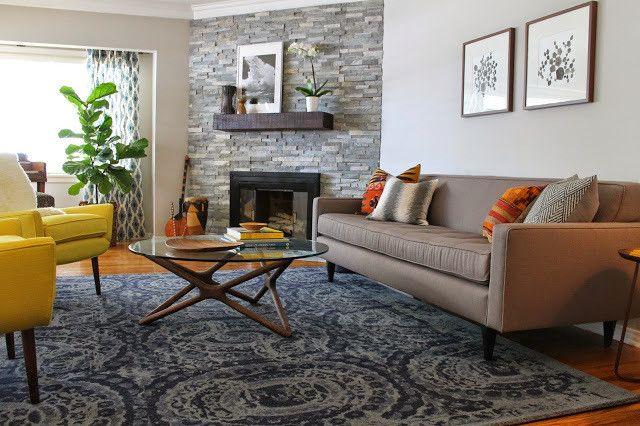 bosworth printed wool rug - pottery barn
