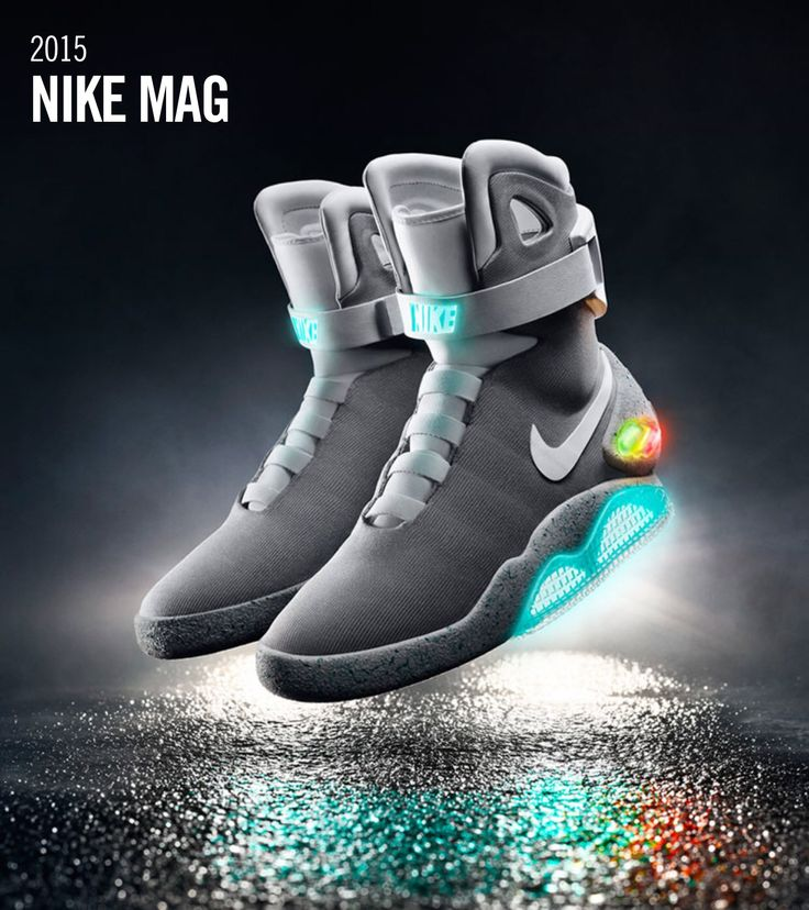 My holy grail of sneakers. Nike Mag 2015 self lacing straight from Back to  the