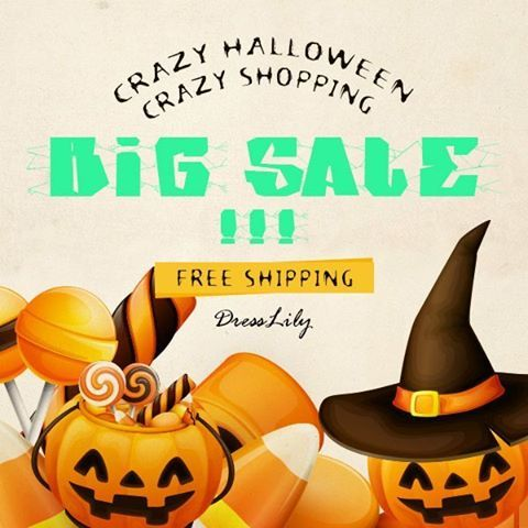 Halloween SALE ____________________  1.Tap the link: https://like2have.it/dresslily  2. Find this post (look for the SHOP IT button for this image)  3. Tap the post and you can go straight to our site