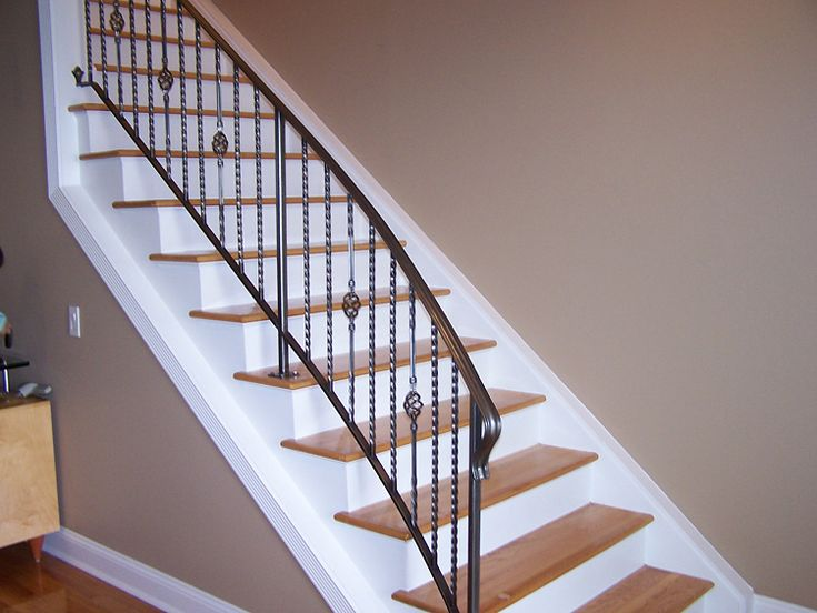97 Best Images About Stair Rail Ideas On Pinterest Image Search Wrought Iron Stair Railing