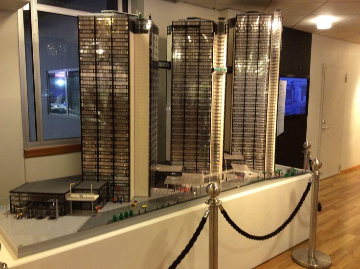 Legoista rakennettu