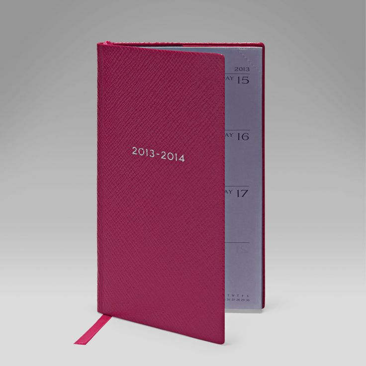 Pocket Diary  http://www.smythson.com/leather-2014-diaries/leather-diaries-and-organisers.html #Paper #diary #soho #Featherweight #Smythson #Panama