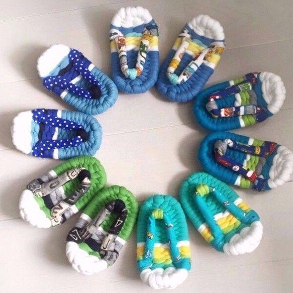 1歳のお祝い用*ベビー布ぞうり (ナンバープレート グリーン)|靴 ...
