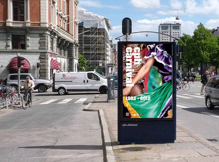 Copenhagen Carnival gets new logo, image style & posters: MayK - Kristina May Olsen