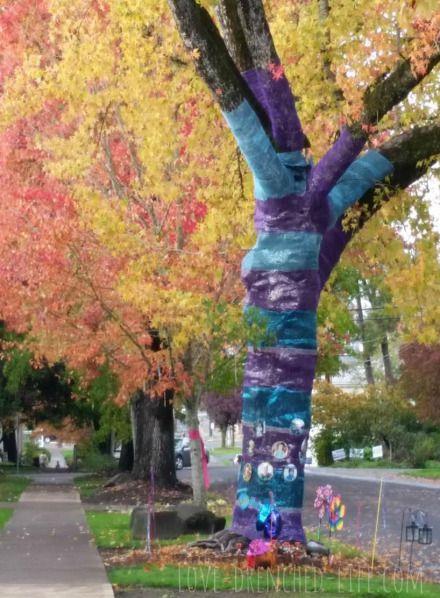 Anna and Abby's Tree Fall