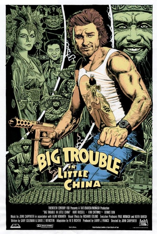 """""""I watched this the other day, for the first times since I was a kid, I forgot how amazingly awesome it is!"""" - Big Trouble in Little China"""