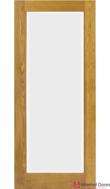 Pattern 10 French Glazed Oak Door