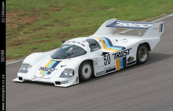 The iconic Porsche 956 sports prototype, a four time Le Mans winner, and widely-regarded as the best sports racer of all time,was seen in action at the Renault Knysna Hillclimb 2011