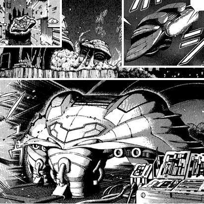 Metroid Manga Samus Aran's Gunship