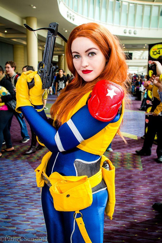 gi joe cosplay Scarlett