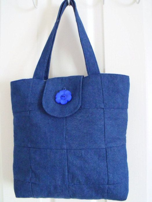 Hey, I found this really awesome Etsy listing at https://www.etsy.com/listing/232336349/denim-patchwork-cotton-shopping-bag