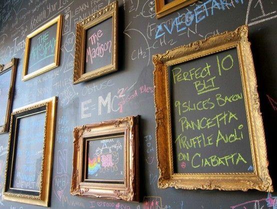 for office - project board?   Blackboard Wall by miss d