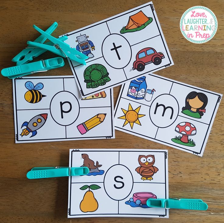 Beginning Sounds Clip Cards! Phonics + fine motor = hands on fun for your little learners!