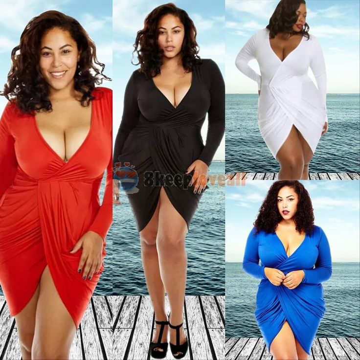 PLUS SIZE Summer Womens Bodycon Evening Party Cocktail Bandage Short Mini  Dress