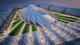 Calatrava's 'falcon' design picked for Expo 2020 pavilion