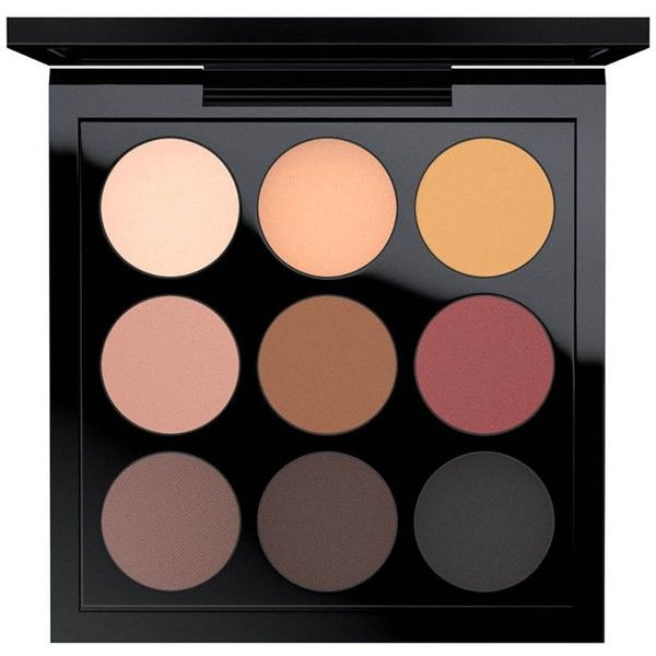 MAC Eye Shadow X 9 found on Polyvore featuring beauty products, makeup, eye makeup, eyeshadow, mac cosmetics, palette eyeshadow and mac cosmetics eyeshadow