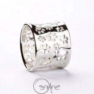 Anello Zampette NY in argento 925
