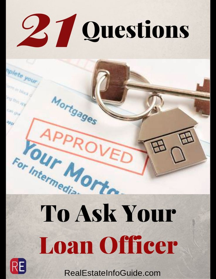 21 Questions To Ask Your Loan Officer This Or That Questions