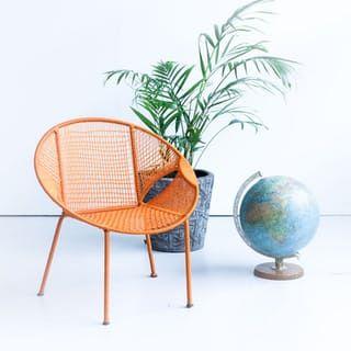 Kids chair orange