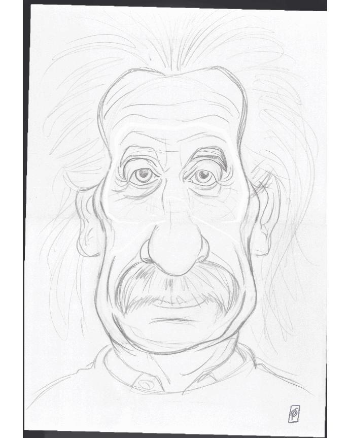 How I created genius :-P Albert Einstein from Season One - Celebrity Sunday instagram   art   ideas   follow