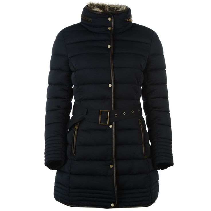 It's not down - but i got this Firetrap padded coat all the same - quite nice