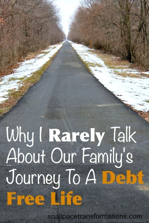 Debt free living: One family's debt free journey and what they learned along the way.