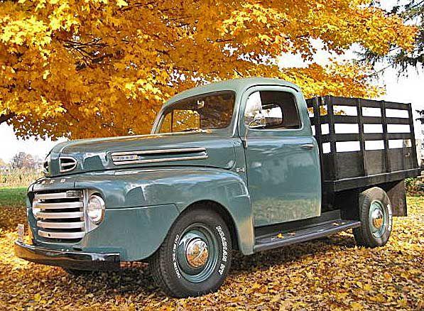1950 Ford F1 Stake Pickup