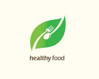 Healthy Food Logo design - works well in Healthy food, Organic food, Food Business, Restaurant ...and similar business Price $290.00