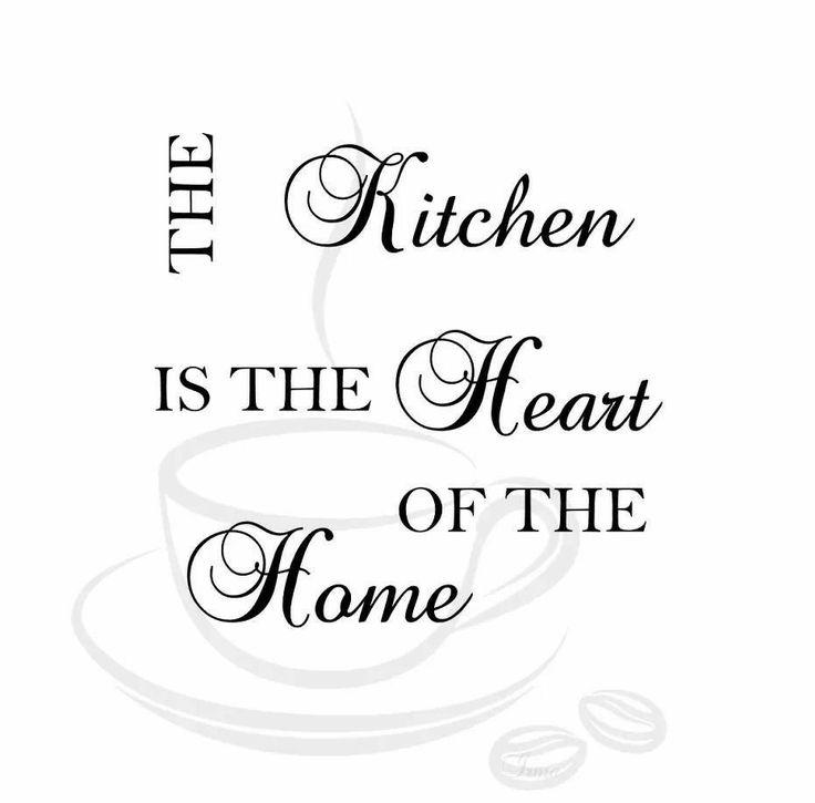 keuken muurtekst