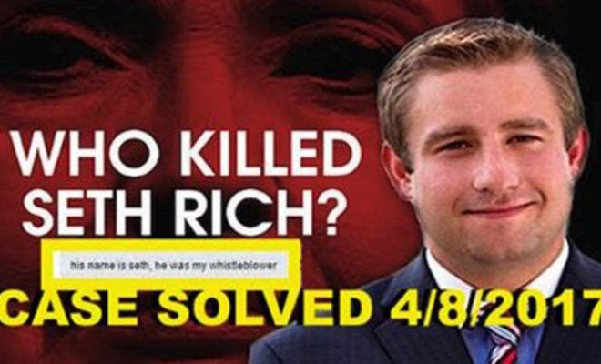 Wikileaks released Evidence Murdered DNC staffer Seth Rich was their Whistleblower, Democrats freaking