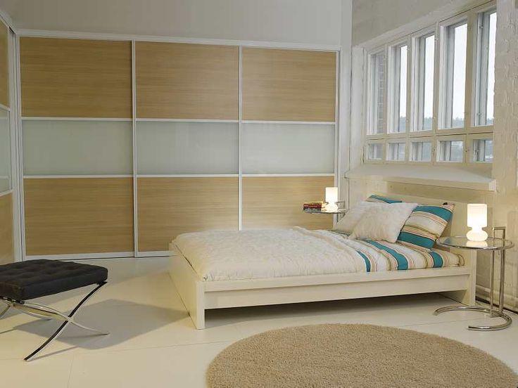 Liukuovien materiaaleilla saadaan luotua monenlaista tunnelmaa huoneeseen.