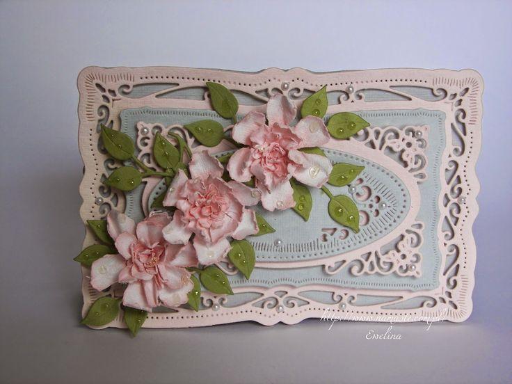 Elina Cardmaking Hobby: Letnie kwiaty, kurs i pożegnanie w Namaste