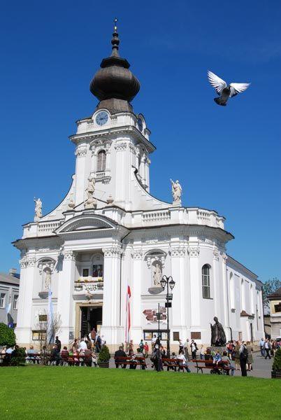 Basilica in Wadowice