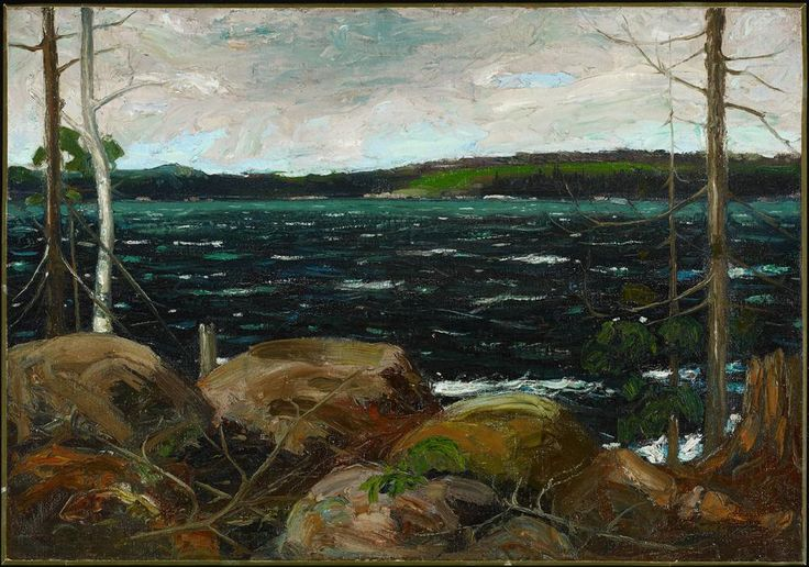 Tom Thompson - Northern Lake, winter 1912, Art Gallery of Ontario