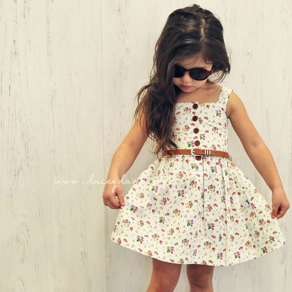 Lacey Lane India-Rose Dress - (AU 2 / US 18-24m)