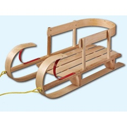 @Overstock - A classic wood and metal construction highlights this Kindersleigh sled from Flexible Flyer. This toddler sled features safety rails and a sturdy base for hours of winter fun.http://www.overstock.com/Sports-Toys/Flexible-Flyer-Kindersleigh-Sled/5584080/product.html?CID=214117 $82.99