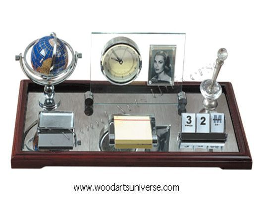upto 65% off  Executive Desk Organizer with clock and picture frame WASCB0077 #sale http://woodartsuniverse.com/catalog/product_info.php?cPath=28&products_id=275