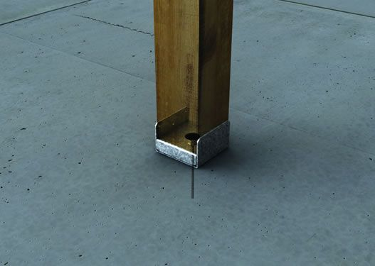 Leveling Post Anchors : Best images about decking on pinterest posts